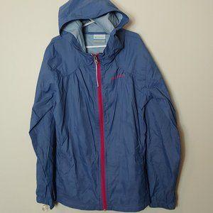 Kid's Columbia Rain Wind Jacket Hooded